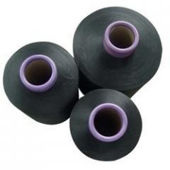 Dope Dyed Black Fiber