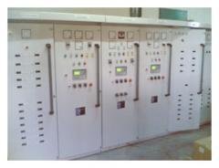 Control panel genset synchronizer