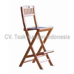 Folding bar chair