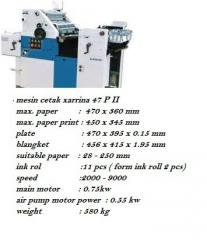 Mesin cetak 1 warna