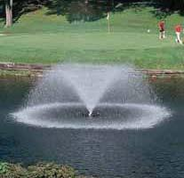 Aerator fountain