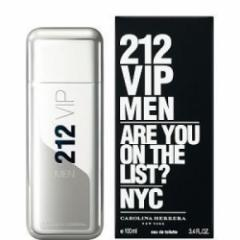 Perfume Original. Carolina Herrera 212 VIP Men