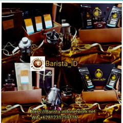 Gift packages of coffee