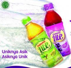 Vinegar drink with juice