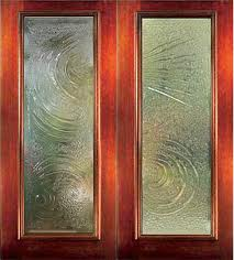 Door glass