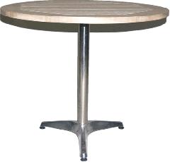 Oak Round Table