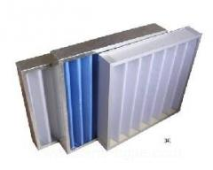Frame air filter
