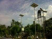 PJU LED Hybrid Solar-Utility