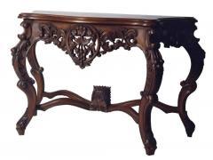 Rococo console table