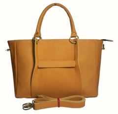Jollie Handbag with Extra Strap on Tan