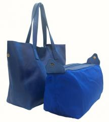 Bonnie Shopping Bag Medium On Blue