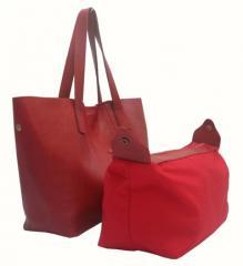 Bonnie Shopping Bag Medium On Red Ferrari