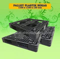 Pallet Plastik Bekas 110 x 110 x 15 cm