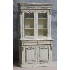 Mahogany Display Cabinet 2 Doors