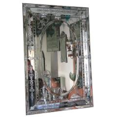 Rectangle venetian mirror topas