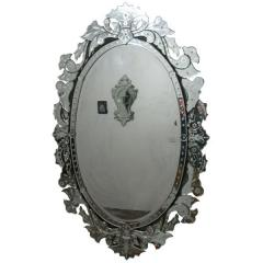 Full length venetian mirror oval – 1034