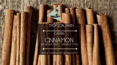 Cassiavera Cinnamon Stick / Cinnamomum Burmanii (kilogram)