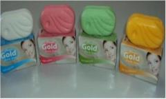 CLASSIC GOLD BEAUTY SOAPS - 75 Gm - FROM INDONESIA