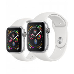 Apple Watch Series 4 Silver Aluminum Case with