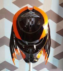 Predator Helmets Orange Edition