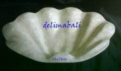 Plate capiz shell