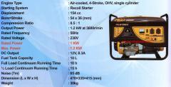 H & L Type HLG 1500 X Genset