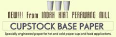 Cupstock Base Paper