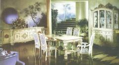 ADT 001 Meja Makan Neoclassical, dining table set