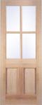 External Hemlock Doors