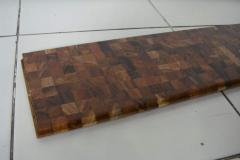 Teak Chess Laminate Wood Flooring T&G