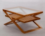 Coffee Table Square Rack