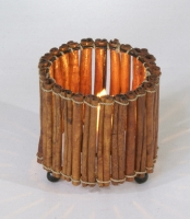 Cinnamon Candle Holder