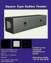 Rectangle / Square Rubber Fender mempunyai model