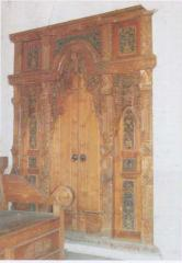 Pintu Rumah Gapura Antik MPB837