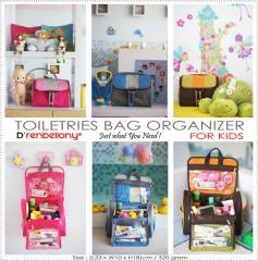 Toiletries Bag Organizer for Kidz