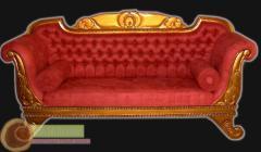 Kursi Sofa 300 GOld Emas