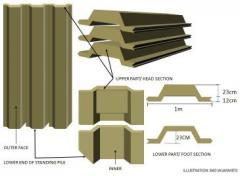 Sheet Pile ( CCSP)