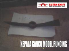 Kepala Gancu model Runcing, picks