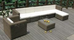 Outdoor Synthetic Rattan 2, soft sofas