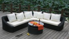 Outdoor Synthetic Rattan 3, soft sofas