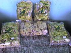 Banana crispy chips-2