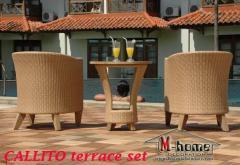 Terrace chair plastik