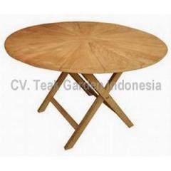 Round Folding Table Matahari