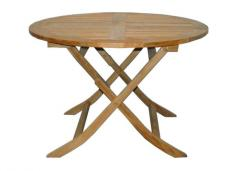 Round Fold Table