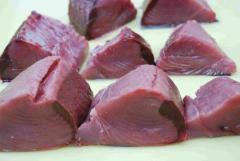 Fresh Yellow Fin tuna loin