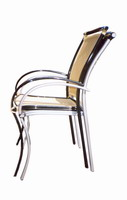 Stackability of profab Arm Chair