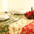 Table Cloth Christmas Cherry