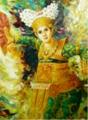 Painting Bali Dancer