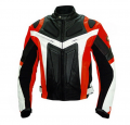 Leather Jacket Sporty Verliefd