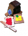 Wooden Toy Cutting Bread